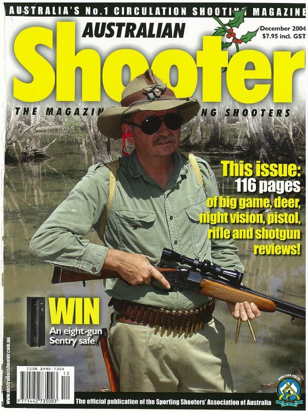 aussiehunter SSAA Aus Shooter Dec 2004 cover - Don