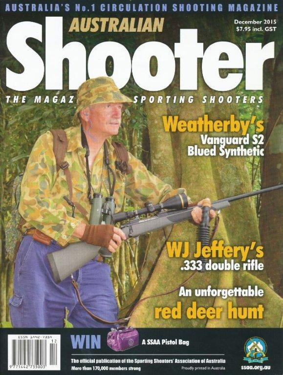 aussiehunter SSAA Shooter cover Dec-2015
