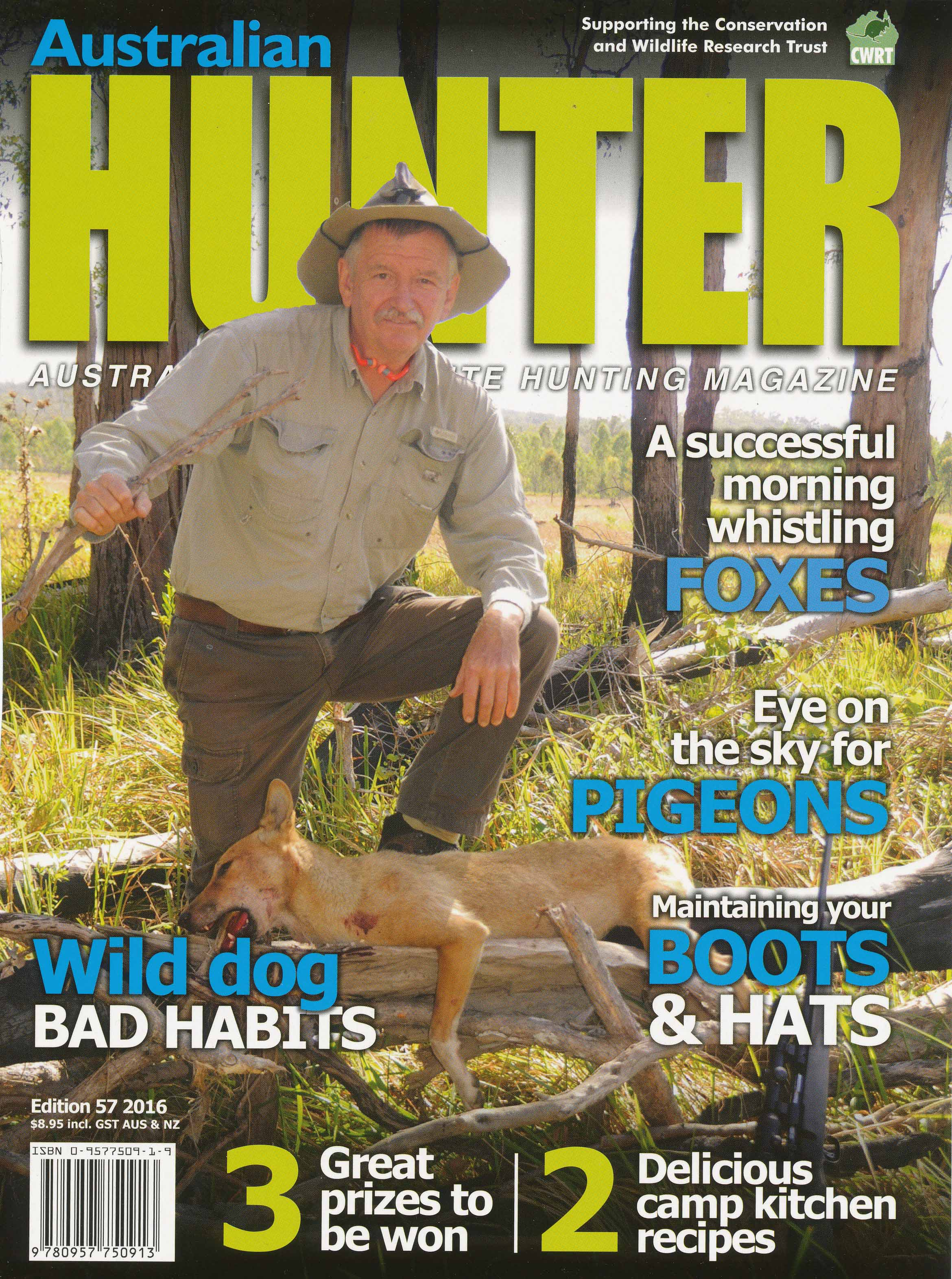 aussiehunter SSAA Hunter 57 Cover