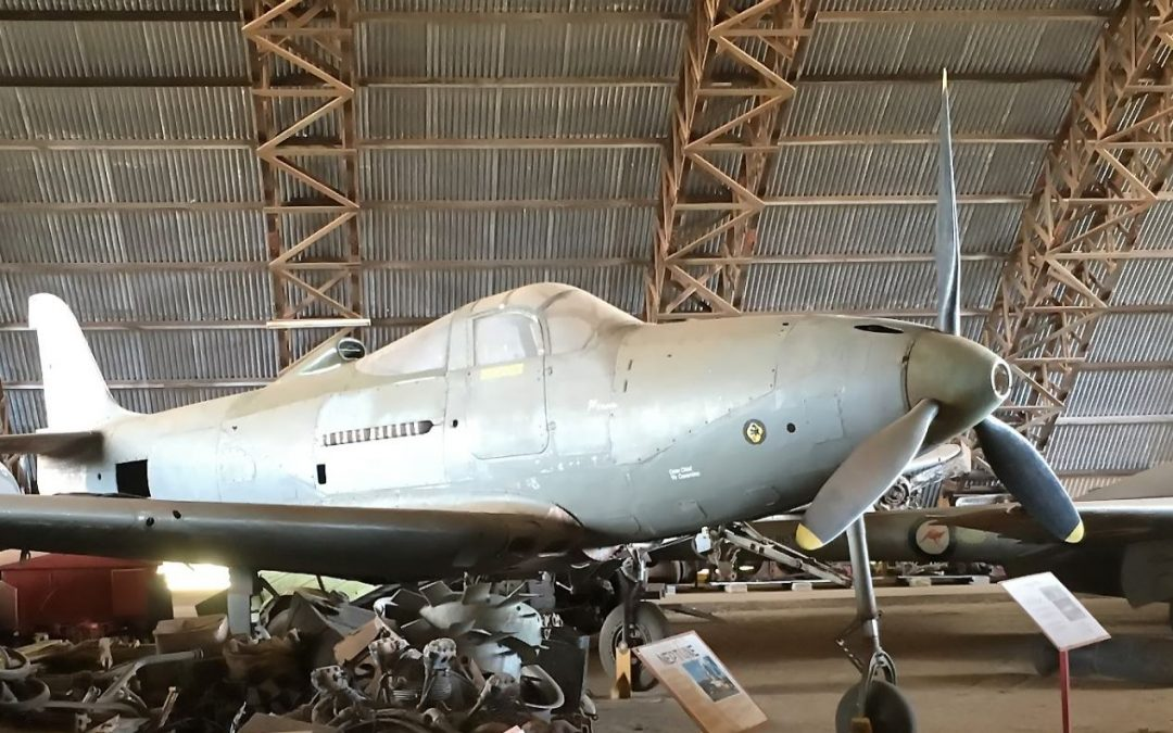 WWII fighter at Beck Military and Aviation Museum Mareeba