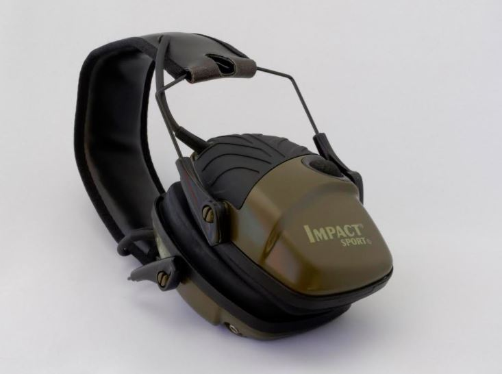 Impact Sport's Electronic Shooting Sports Folding Ear Muffs