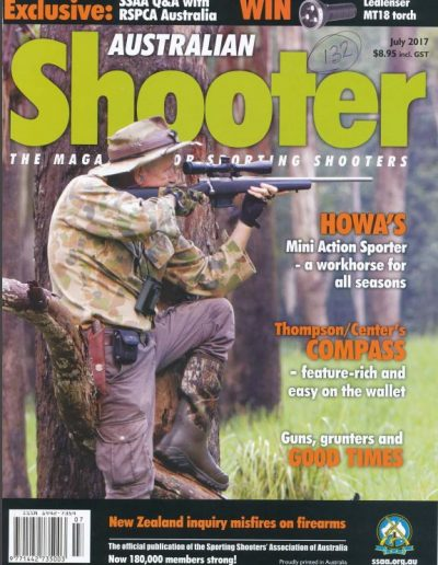 aussiehunter SSAA Aus Shooter July 2017 Cover