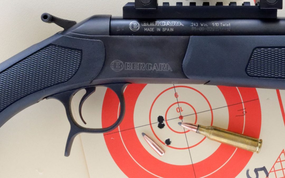 243 Winchester Nosler Loads in the Bergara BA13