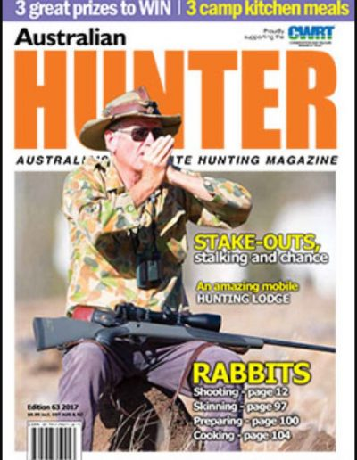 aussiehunter SSAA Hunter 63 cover