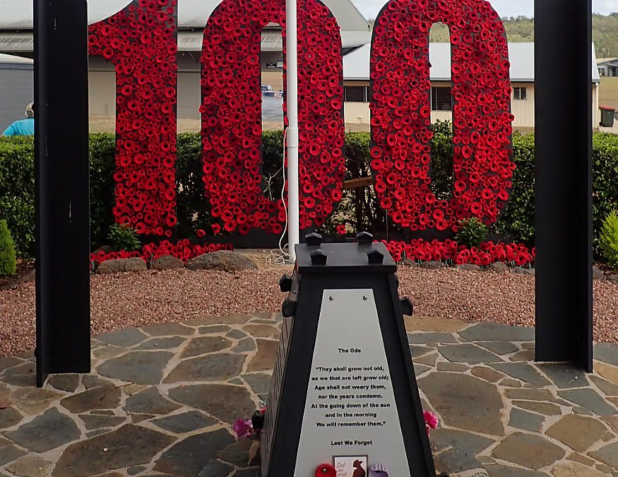 100th anniversary Remembrance Day