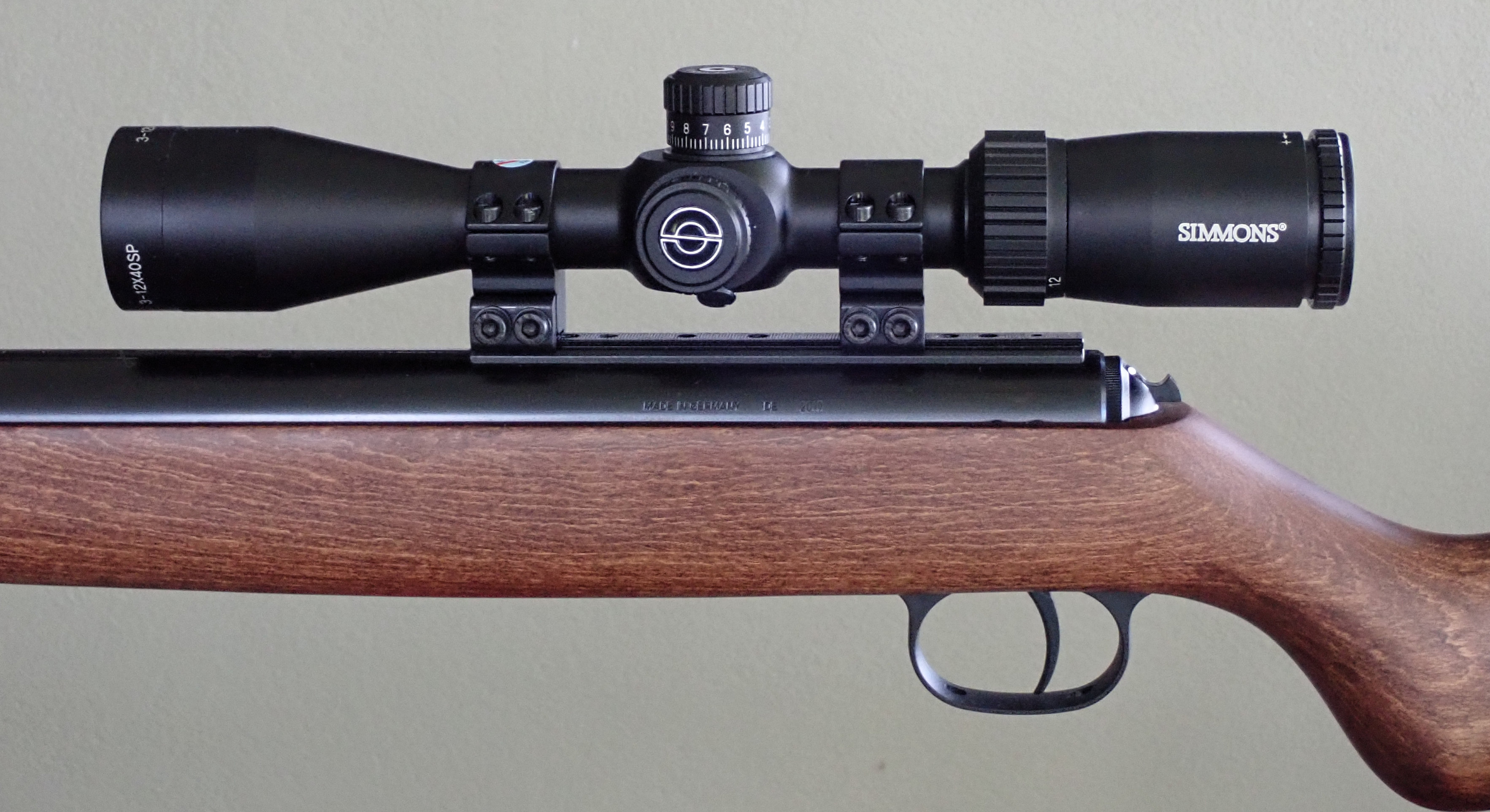 Diana k98 air rifle and scope