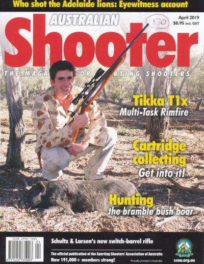 aussiehunter SSAA Apr-2019 Shooter cover