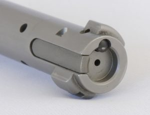 aussiehunter recessed face of the bolt with its big ejection plunger and large extraction claw