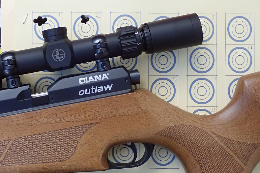 Diana Outlaw PCP air rifle