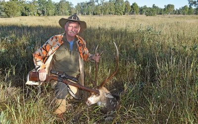 Hunting Axis Chital Deer for Venison