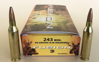 Federal Fusion factory ammo for hunting